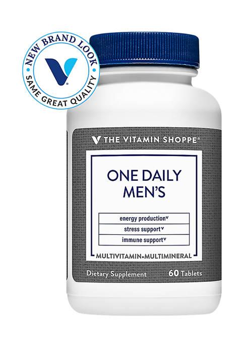 The Vitamin Shoppe® One Daily Mens Multivitamin &