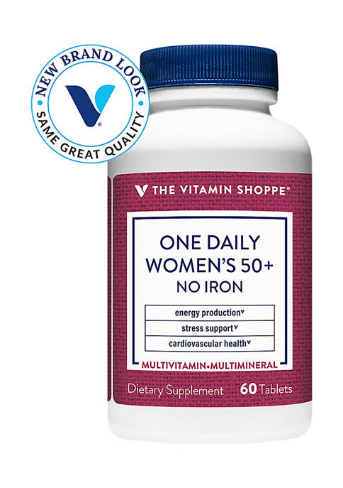 The Vitamin Shoppe® One Daily Womens 50+ Iron
