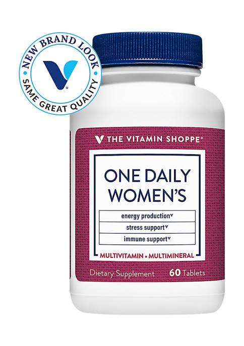 The Vitamin Shoppe® One Daily Womens Multivitamin &