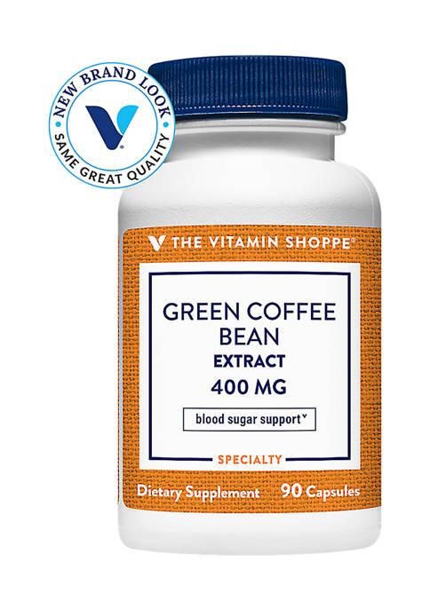 Green Coffee Bean Extract - 400 MG (90 Capsules)