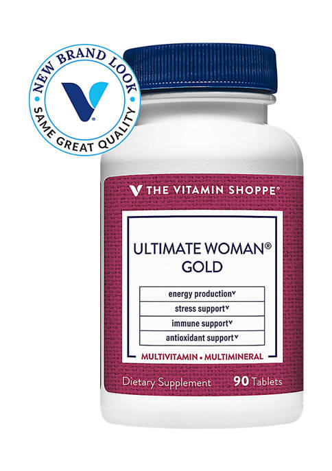 The Vitamin Shoppe® Ultimate Woman Gold Multivitamin &
