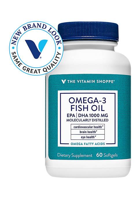 The Vitamin Shoppe® Omega 3 Fish Oil 1,000