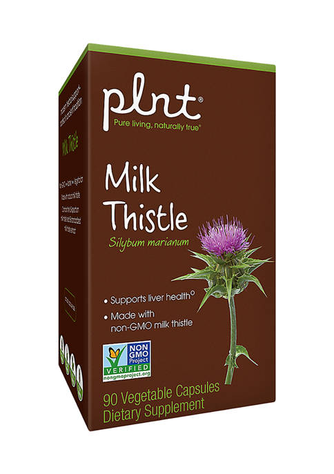 Milk Thistle - Made with Organic, Non-GMO Ingredients (90 Vegetarian Capsules)