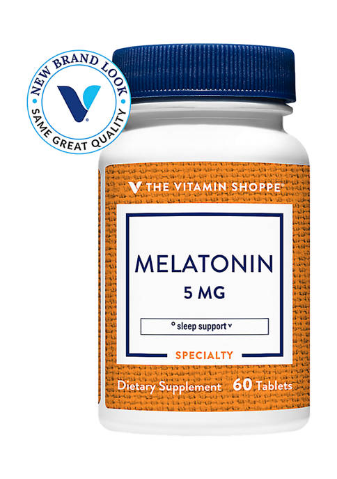 Melatonin for Sleep - 5 MG (60 Tablets)