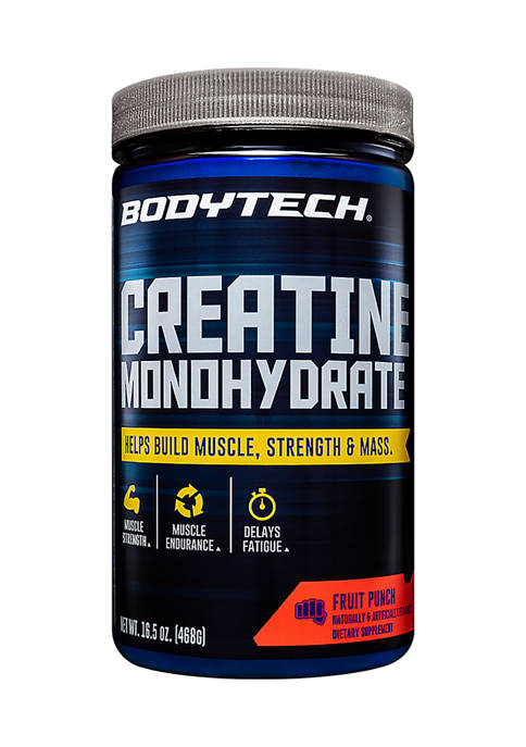 Creatine Monohydrate  -  Fruit Punch (16.5 Ounce / 78 Servings)