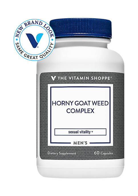 Horny Goat Weed Complex (60 Capsules)
