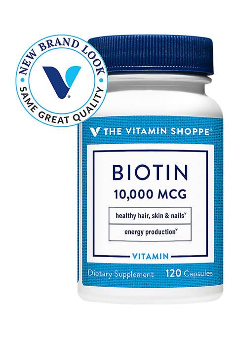 The Vitamin Shoppe® Biotin for Hair, Skin &