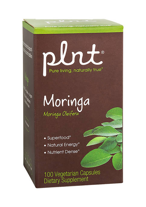 Moringa - Nutrient Dense Superfood - Non-GMO & Vegan - 1,000 MG (100 Vegetarian Capsules)