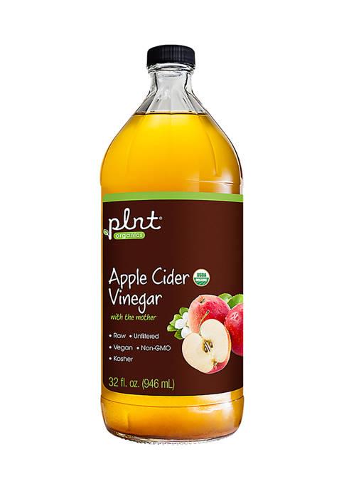plnt® Organic Apple Cider Vinegar with the Mother