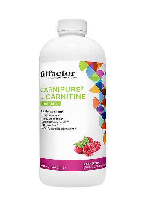 Carnipure L-Carnitine 1100MG Supports Fat Metabolism - Raspberry (16 fl oz. / 31 Servings)