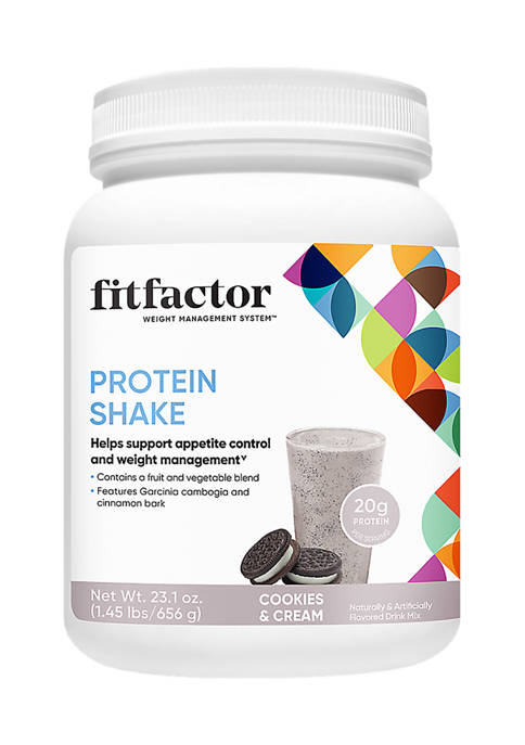 Protein Shake - Cookies and Cream (1.45 Lbs. / 16 Servings)