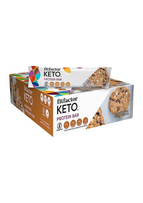 Keto Protein Bar - Chocolate Chip (12 Bars)