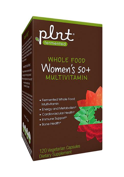 plnt® Whole Food Womens Multi 50+ (120 Vegetarian