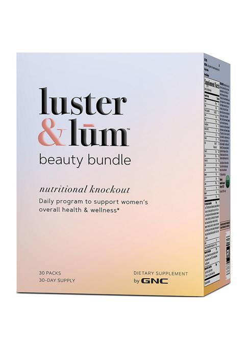 LUSTER & LŪM™ BY GNC Beauty Bundle Nutrition