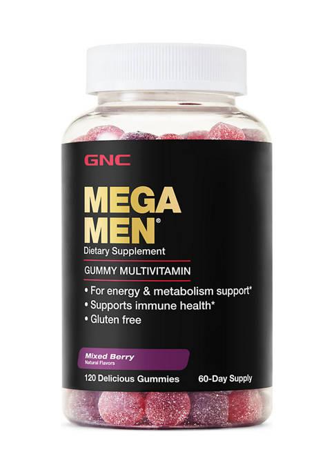 GNC MEGA MEN® Mens Multivitamin Gummies