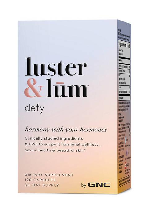 Defy - Hormone Balance & Mood Support Plus Skin Tone & Elasticity With Hyaluronic Acid (HA) - (120 Vegetarian Capsules)