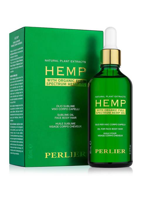 Perlier Hemp Oil for Face, Body, and Hair