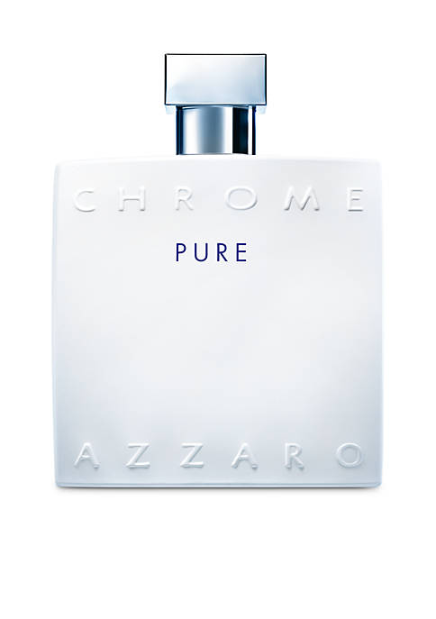 Azzaro Chrome Pure Eau de Toilette, 3.4 oz