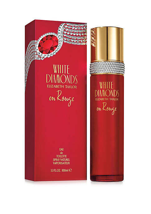 Elizabeth Taylor White Diamonds en Rouge