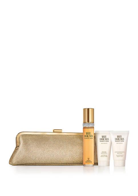 White Diamonds Eau de Toilette 4-Piece Gift Set, Perfume for Women