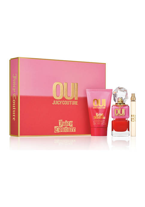 Juicy Couture OUI 3 Piece Fragrance Gift Set