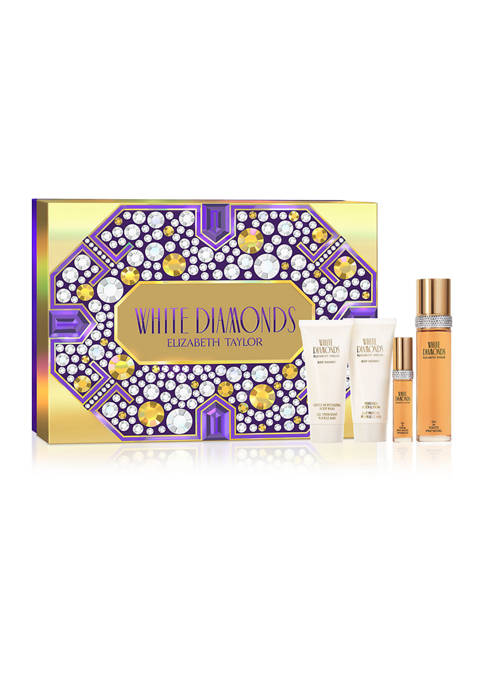 Elizabeth Taylor White Diamonds 4 Piece Fragrance Gift