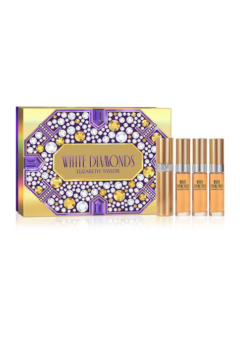 White Diamonds Coffret 4 Piece Fragrance Gift Set