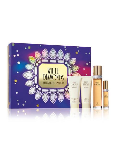 Elizabeth Taylor White Diamonds 4 Piece Gift Set