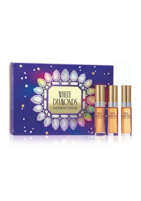 Elizabeth Taylor White Diamonds 3 Piece Fragrance Gift