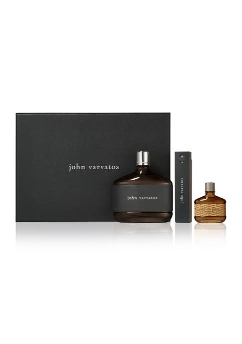 John Varvatos 3 Piece Fragrance Gift Set