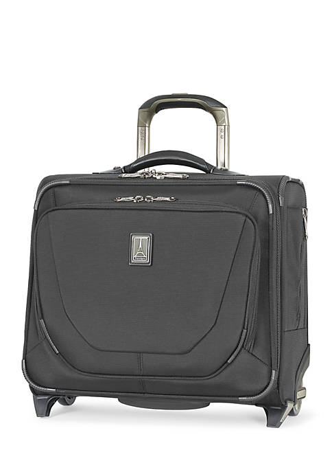 Crew 11 Rolling Tote -Black