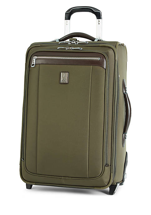 Platinum Magna 2 Small Expandable Rollaboard Suiter -Olive