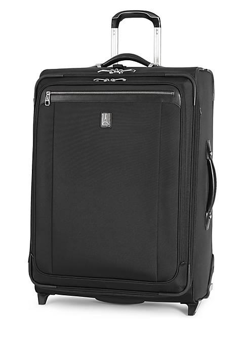 Platinum Magna 2 Medium Expandable Rollaboard Suiter -Black