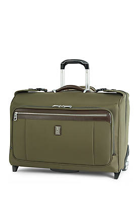 Platinum Magna 2 22-Inch Carry-On Rolling Garment Bag -Olive
