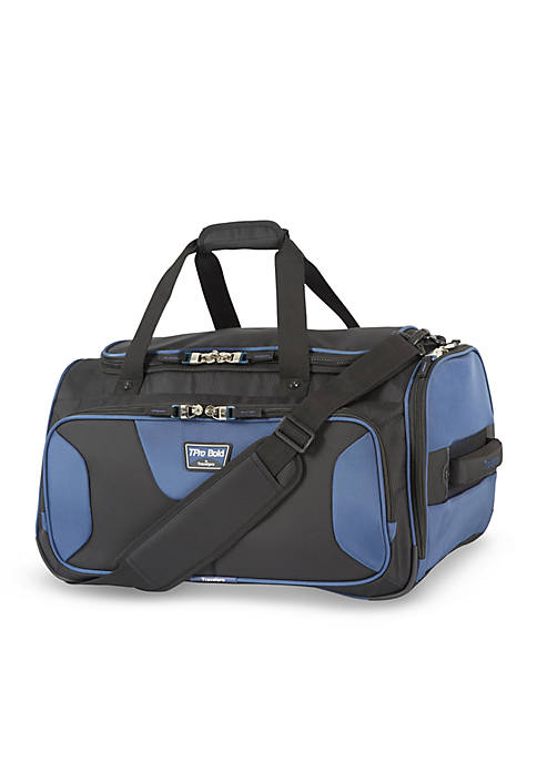 T-Pro Bold 2 22-Inch Soft Duffel Bag -Black/Navy
