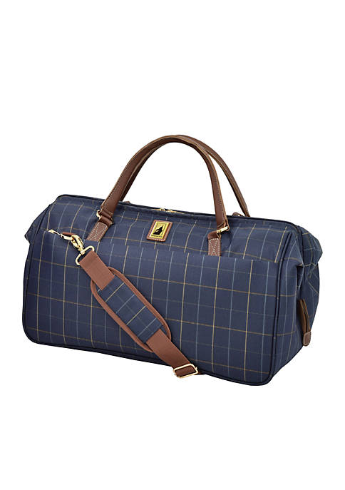 London Fog® Kensington II Wide Mouth Duffel Bag