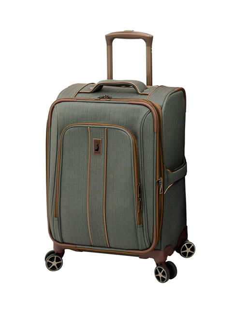 Leisure Newcastle 20 Inch Expandable Spinner Carry On