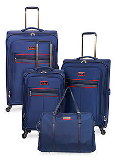 Jessica Simpson Navy Freedom Luggage Collection