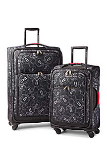 6d31539dcb American Tourister Disney Mickey Mouse Multi Face Softside Spinner  Collection