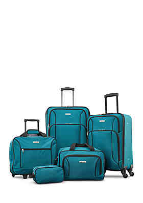 4d3fe50d0f76 American Tourister Five-Piece Spinner Luggage Set ...