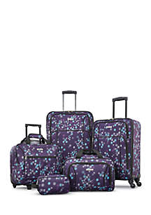 Five-Piece Spinner Luggage Set