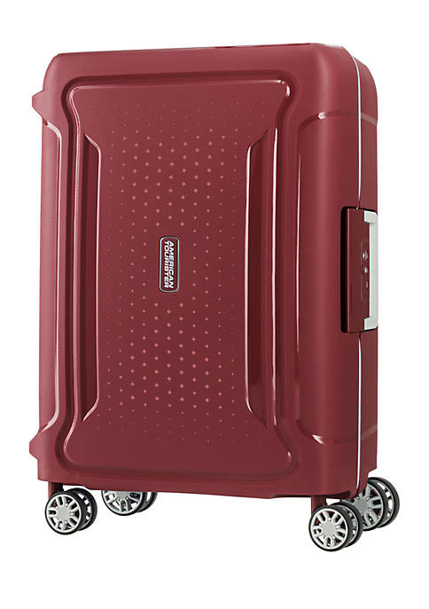 0AT Tribus 20 Spinner Suitcase- Red