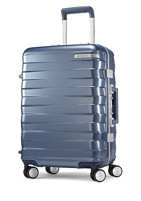 0 Framelock 20 Spinner Suitcase- Ice Blue