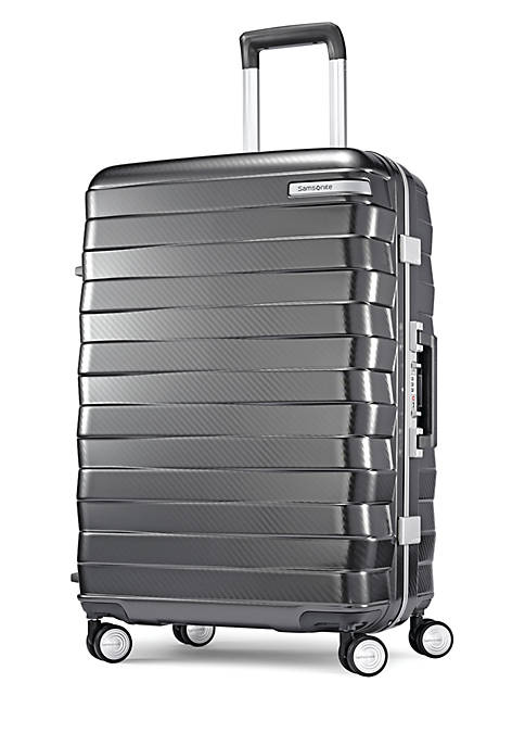 0 Framelock 25 Spinner Suitcase- Gray