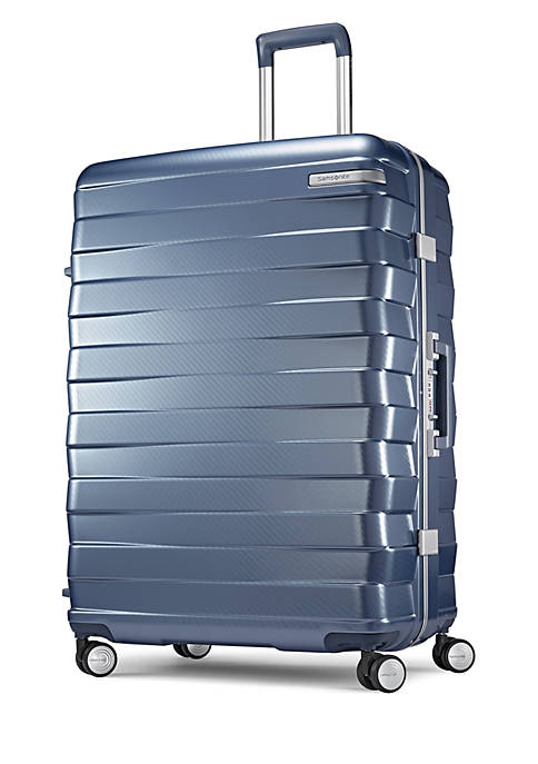 0 Framelock 28 Spinner Suitcase- Ice Blue