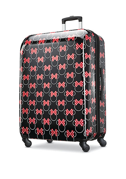 Minnie Mouse Bows Hardside Spinner Luggage