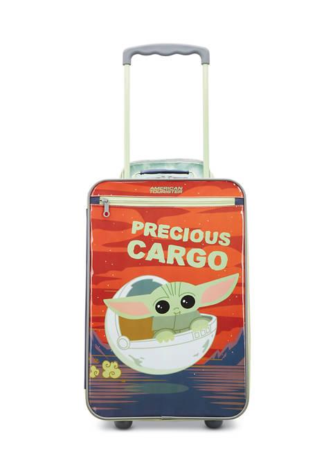 Disney Kids Softside The Child Upright Suitcase