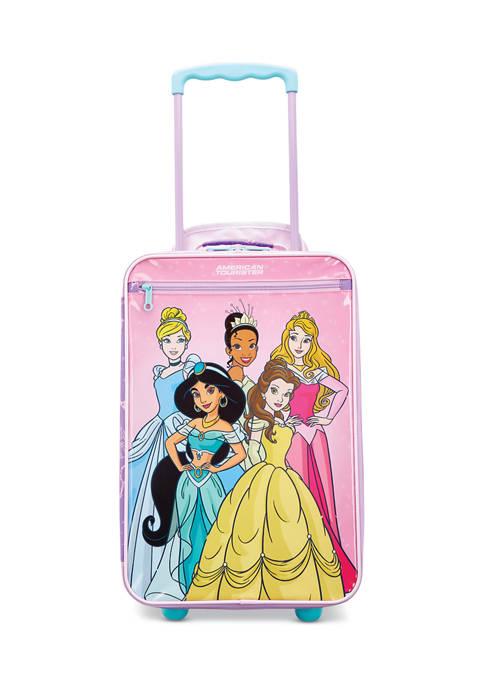 American Tourister Disney Kids Softside Princess Upright Suitcase