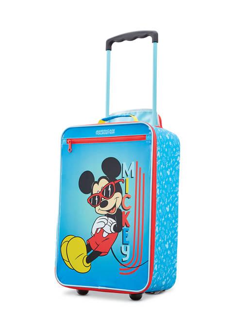 Disney Kids Softside Mickey Mouse Upright Suitcase