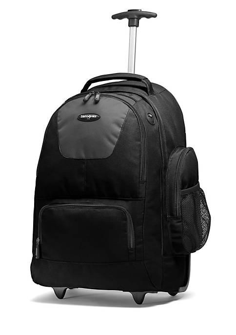 21-in. Wheeled Backpack - Black/Charcoal